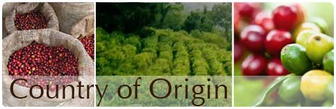 Country of Origin Coffee