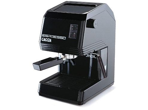 Gaggia Black Semi-Automatic Espresso Machine