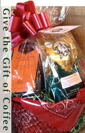 Christmas Coffee Gift Basket - the best Jackson Hole Coffee